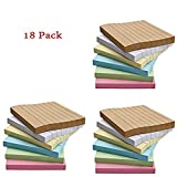 Csdtylh 18 Pads/Pack Colorful Sticky Notes, Memo Notes, Self-stick Notes, Lined, 3 Inch X 3 Inch 80 Sheets/Pad,6 Colors