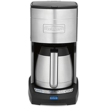 Cuisinart DCC-3750 Elite 10-Cup Thermal Coffeemaker, Stainless Steel - Amazon Exclusive