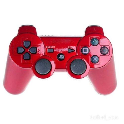 MANDO PLAYSTATION 3 PS3 SIXAXIS INALAMBRICO DUALSHOKC ROJO: Amazon.es: Electrónica