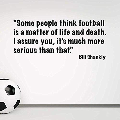 HomeDecorStore Wall Chimp Bill Shankly Football Wall Sticker Quote -