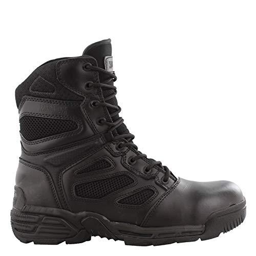 Magnum Men's, Raptor Side Zip Tactical Boots Black 10 M