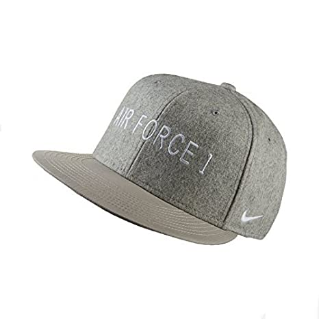 Amazon.com  Nike Air Force 1 True Adjustable Hat 745964 (Light Grey)   Sports   Outdoors 28f8f39b0a8