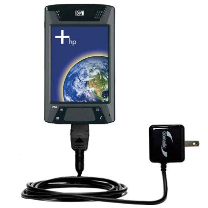 Gomadic Advanced Rapid Wall AC Charger Compatible HP iPAQ hx4700 / hx 4700 - Built Brand TipExchange