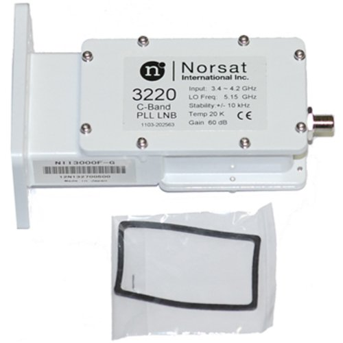 Norsat 3220 Satellite LNB PLL C-Band Digital Pro 4DTV DRO/PLL Commercial