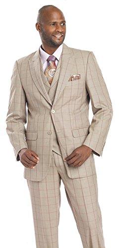 formal-mens-suits-3-piece-taupe-purple-plaid-for-men-blazer-vest-suit-m2695-ej-samuel-48-r