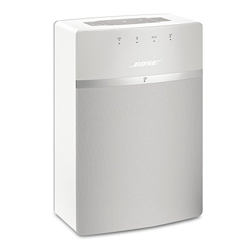 Bose SoundTouch 10 wireless speaker, works with Alexa, White (Boss System Home Speaker)