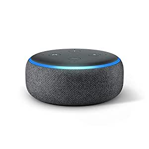 echo dot 3rd generation alexa enabled bluetooth speaker. Black Bedroom Furniture Sets. Home Design Ideas