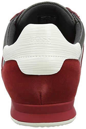 Boss Orange Orland_runn_ny 10198912 01, Zapatillas para Hombre Rojo (Medium Red)