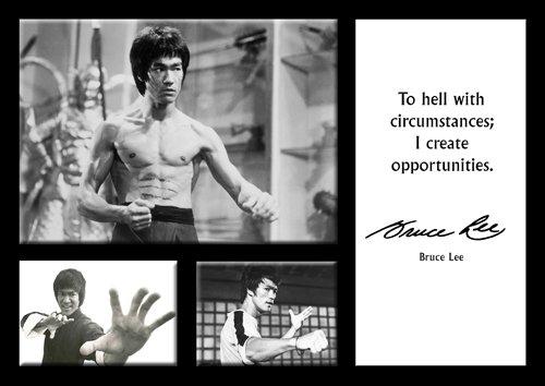 Amazonde Bruce Lee 17 A4 Poster Berühmten Zitaten