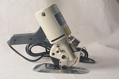 welljun 90mm Blade Electric Cloth Cutter Fabric Cutting Machine 220V