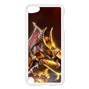 Defense Of The Ancients Dota 2 LEGION COMMANDER iPod Touch 5 Case White ASD3847713
