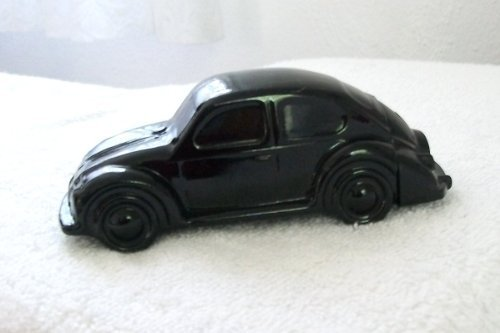 Collectible AVON Black Volkswagen Oland After Shave Decanter EMPTY