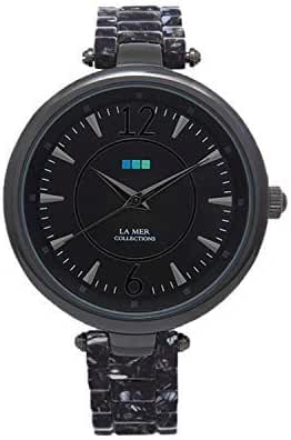 La Mer Sicily Quartz Analog Black-Gunmetal Black Dial Women's Watch LMSICILY006