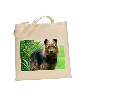 Australian Terrier Dog Bolsa 100% algodón (FC) # 19