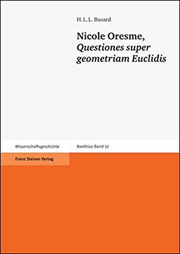 Nicole Oresme, Questiones super geometriam Euclidis (Boethius)