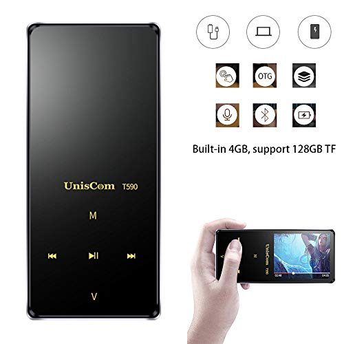 mp3 Palyer, LtrottedJ Uncscom T590 4GB MP3 MP4 Player Walkman Lossless Recorder FM Radio Video Movie