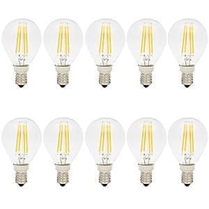 G45 Italasa 10x Ampoule Edison Filament Led Dimmable 4w E14 Vintage doeCrxB