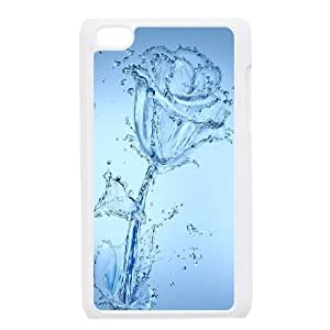 Water Lily iPod Touch 4 Case White Phone cover O7509001