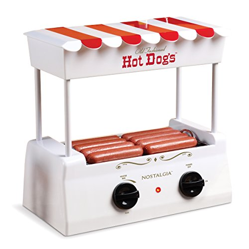 Nostalgia HDR565 Hot Dog Roller and Bun Warmer