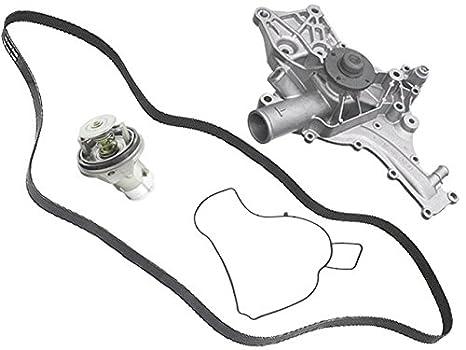 Amazon Com Mercedes Amg 02 04 Coolant Pump Rebuilt Belt 87c