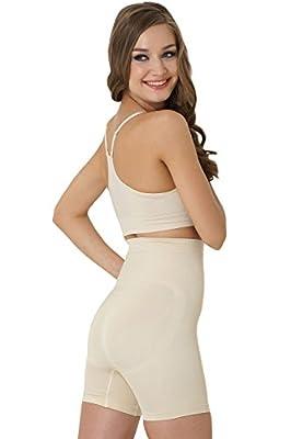 FORMeasy Seamless Shapewear Hi-Waist Shaper, Thigh Slimmer,Tummy Control Panties