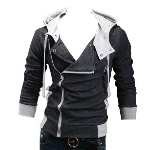Aokin Assassins Creed 3 Desmond Miles Cosplay Hoodie Jacket