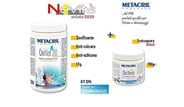 Metacril Kit OXI Net 20 Multiacción + Shock - oxígeno activo en ...