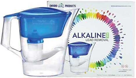 EHM ULTRA Alkaline Water Pitcher /& Ionizer 3.5L Pure Healthy PLUS 3Pack Filters