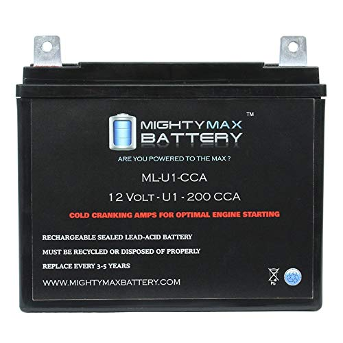 Mighty Max Battery ML-U1 200CCA Battery for Murray Ohio Mfg. Co. 12.5HP/40 Riding Mower brand ()