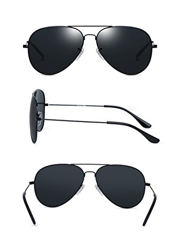 Noir De De Lunettes TESITE Protection Soleil PolariséEs 100 pour Hommes Lunettes UV 7wfPHwq