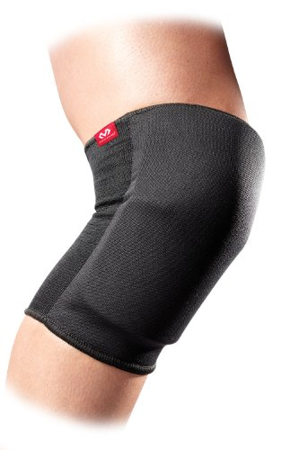 McDavid 645 Standard Knee and Elbow Pad, Black, Large