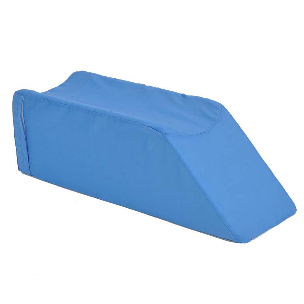 ZHANGZHIYUA Leg Wedge Pillow Legs- Pillow with Memory Sponge - Best for Back, Hip and Knee Pain Relief, Foot and Ankle Injury and Recovery Wedge,1,602010CM