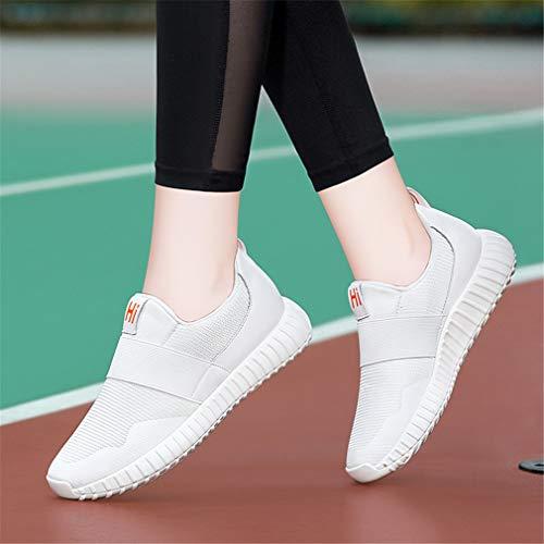 Da Sportive Sneakers Novità Trekking Outdoor Primavera Yan Scarpe Mesh Donna Passeggio Bianca Corsa Traspiranti Atletica XfTxqw5x