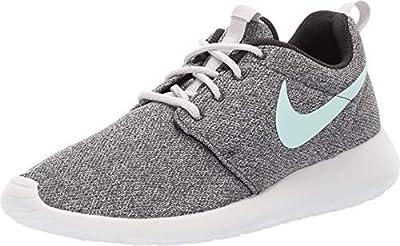 Nike Womens Roshe One Running Shoes Oil Grey/Igloo/Summit White 844994-009 Size 9.5