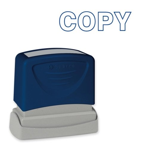 Sparco 60013 Copy Title Stamp, 1-3/4