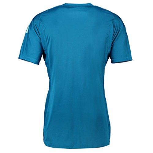 detailed look 624b6 48b23 adidas 2018-2019 Real Madrid Away Goalkeeper Football Soccer T-Shirt Jersey