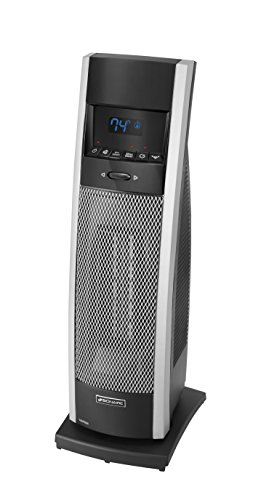 Holmes BCH9212R-NU Bionaire Remote Control Tower Heater with Remote, Medium, Black Ceramic Heaters