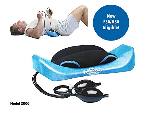 (POSTURE PUMP Relief for Low Back Pain Elliptical Back RockerTM DISC HYDRATOR (Model 2000))