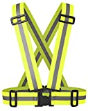 Reflective, High Visibility, Safety Running Vest