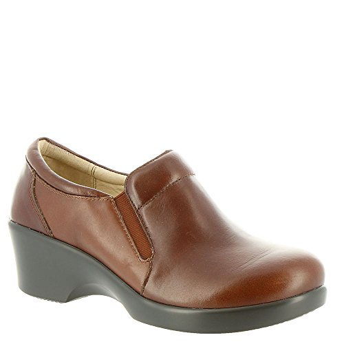 Alegria Womens Eryn Wedge Slip-On Chestnut Luster Size 36 EU (6-6.5 M US Women)
