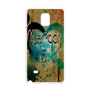 J-LV-F Customized Maroon 5 Hard Cover Case For Samsung Galaxy Note 4