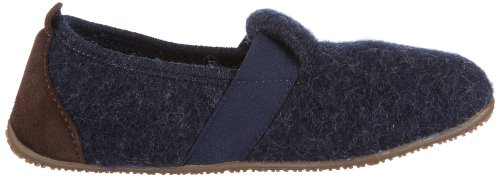 Slippers Living Unisex Kitzbuhel Blue Child Nachtblau Uni 590 qpZICpw