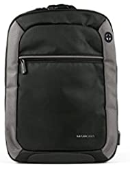 Max Cases Notebook Backpack - Travel Backpack with USB Charging Port & Headphones for Business and School - up...