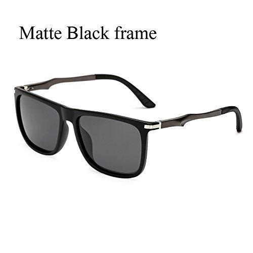 aluminio de retro TL de sol C2 Gafas Plaza de gafas Gafas KP7037 C4 Sunglasses sol polarizadas KP7037 sol Volver polvoriento de ZwY4wtq