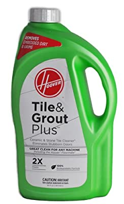Hoover Tile & Grout Plus Ceramic & Stone Tile Cleaner 2X Concentrated Power Hard Floor Solution 64oz (1.89 liters) SC-43-0166-09