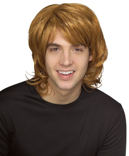 Rubie's 70's Blond Shag Wig, Yellow, One Size