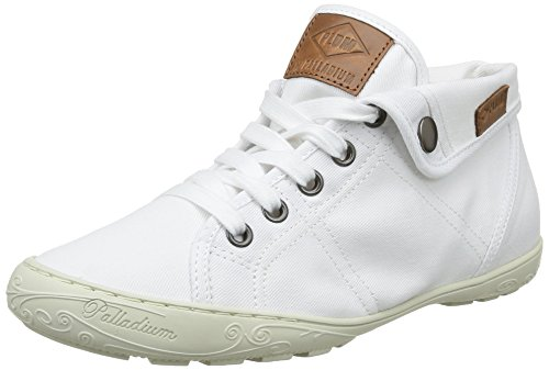 PLDM by Palladium Gaetane Twl, Baskets mode femme Blanc (White)