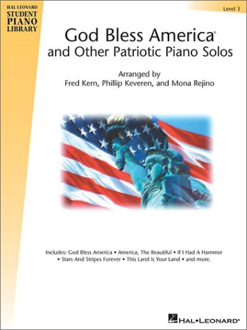 America Beautiful Piano Sheet Music (God Bless America and Other Patriotic Piano Solos - Level 3: Hal Leonard Student Piano Library National Federation of Music Clubs 2014-2016 Selection (Hal Leonard Student Piano Library (Songbooks)))