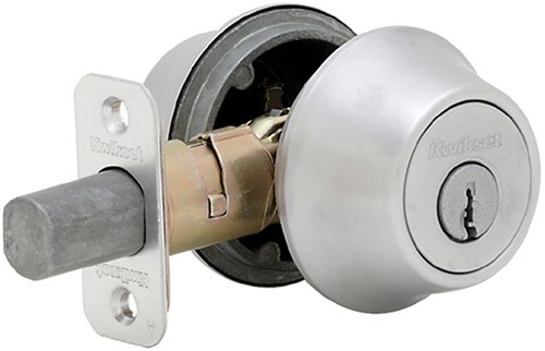 Kwikset 665 Double Cylinder Two Sided Deadbolt in Satin Chrome