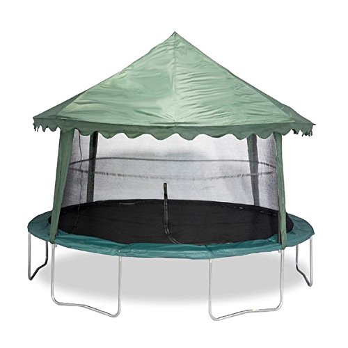 Jumpking Weather Resistant Polyester Solid Green 14-feet Canopy Cover